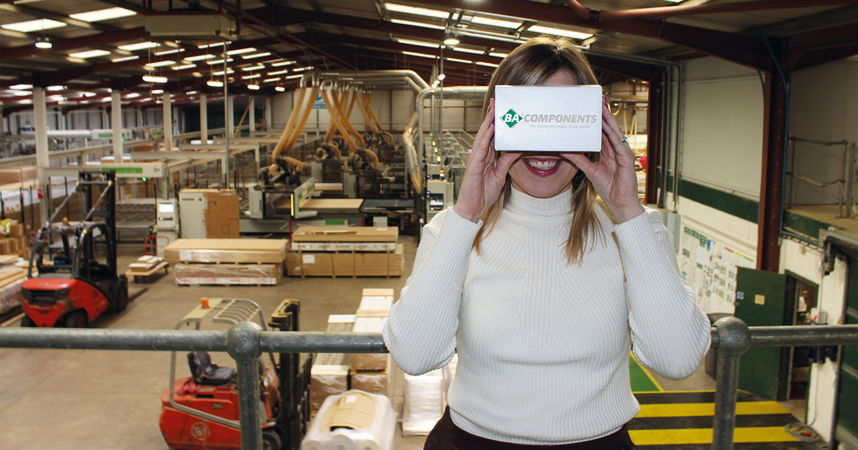 Take a virtual tour of BA Components' manufacturing capability