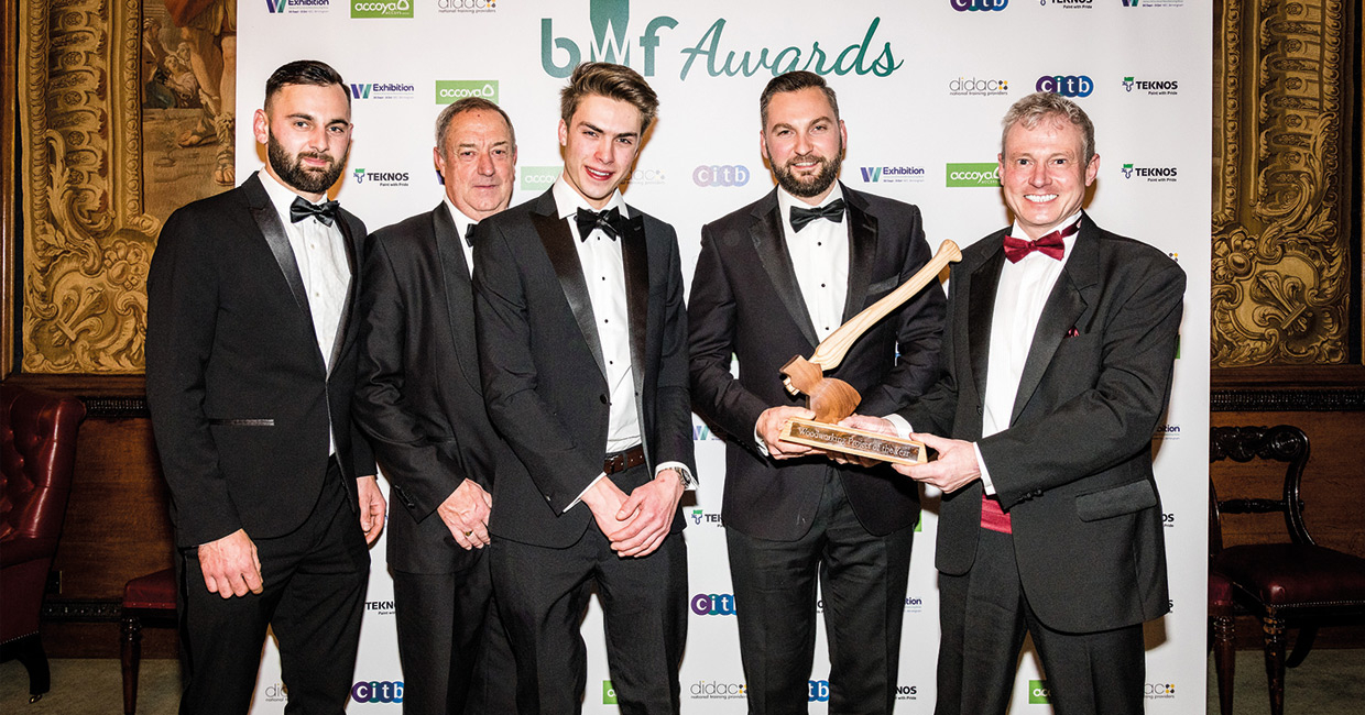 Gelder Joinery, woodworking project of the year winners