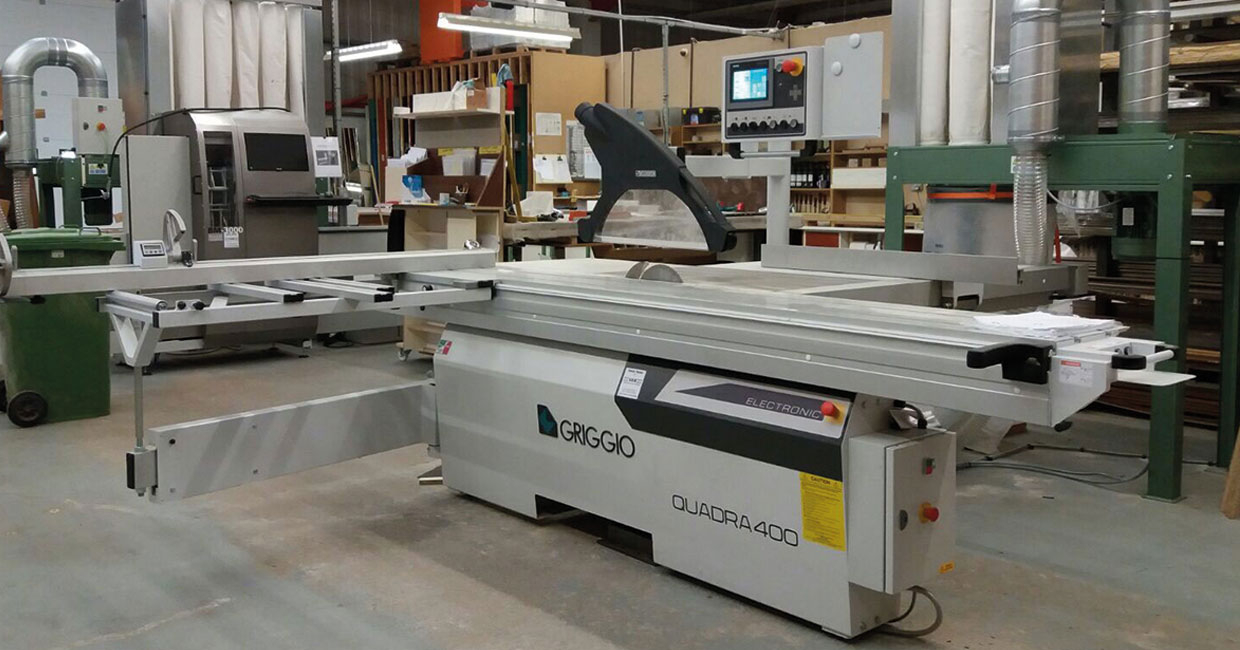 Silderobes' Griggio Digit 3 panel saw