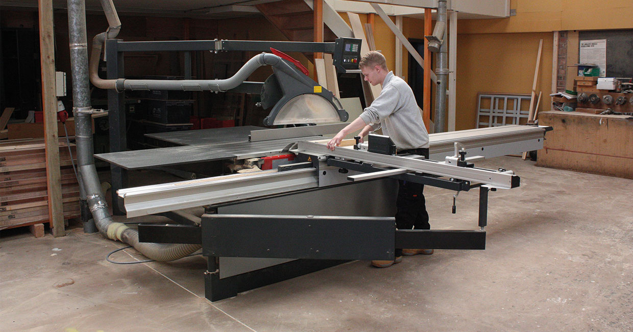 R & S Tonks' Altendorf  F45 ProDrive was tailored to its specific requirements