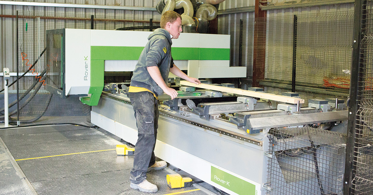 Brunton Joinery reaches new heights with Biesse's Rover K
