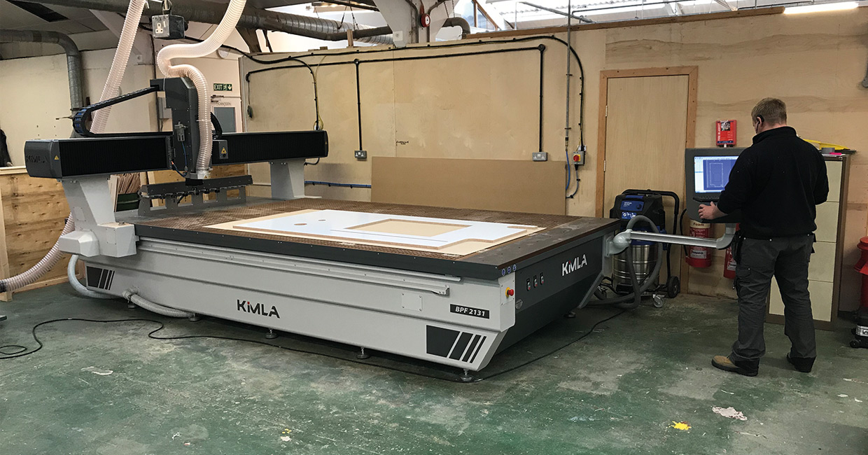 Two Pluss has installed a new BPF2131 three-axis CNC router