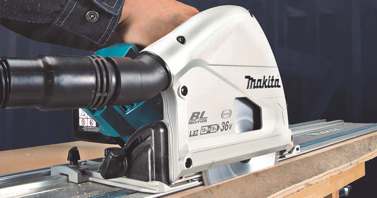Makita DSP600ZJ LXT plunge saw