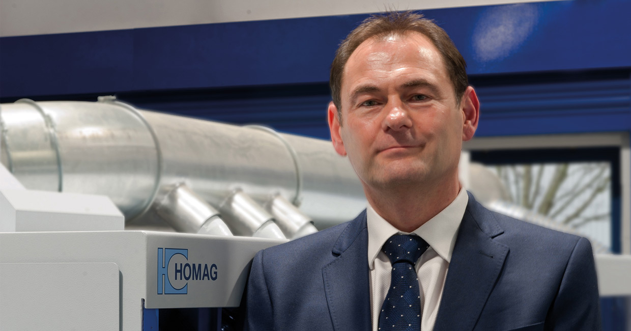 Simon Brooks, MD of Homag UK