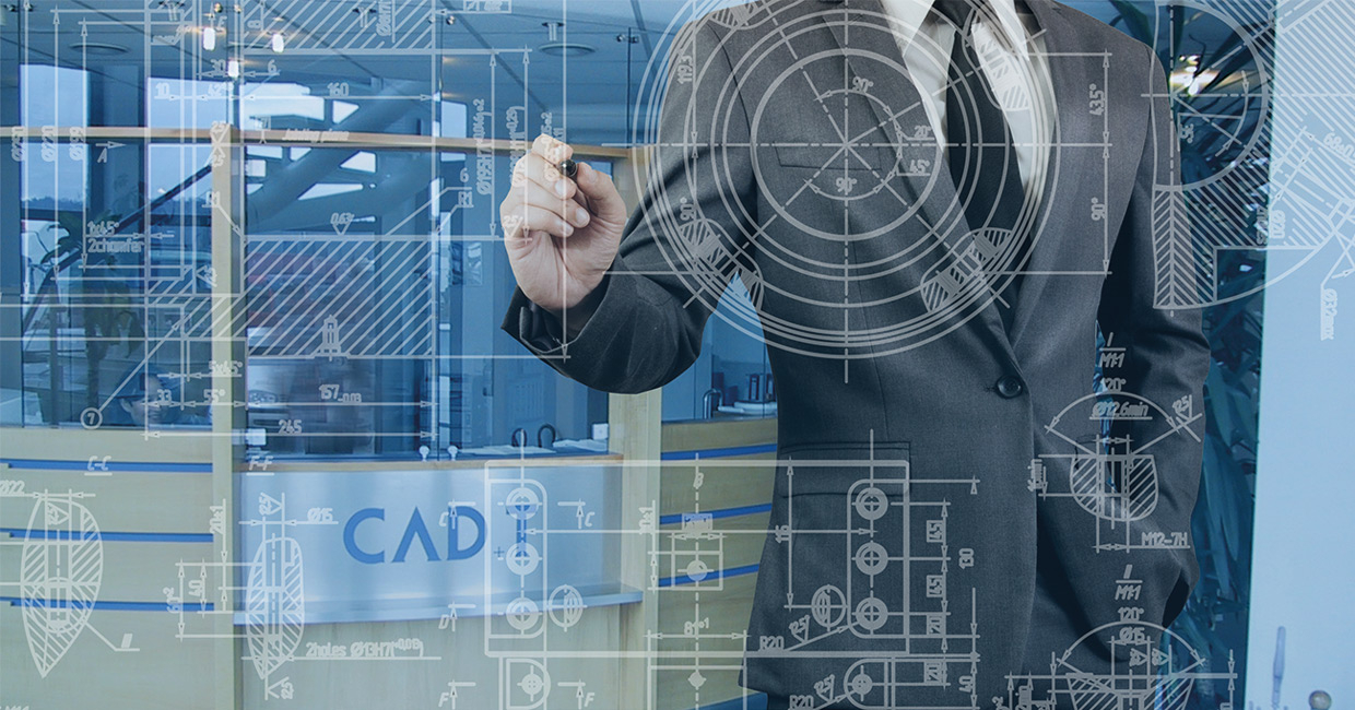 CAD+T interior design and manufacturing solutions.
