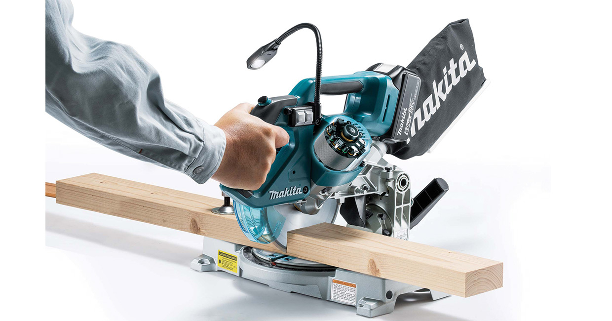 Makita's new 36v BL slide compound mitre saw