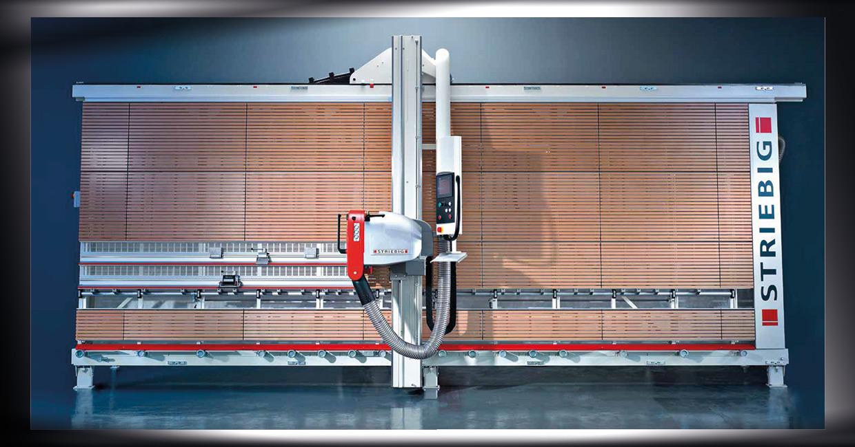 Striebig Control 4216 vertical panel saw