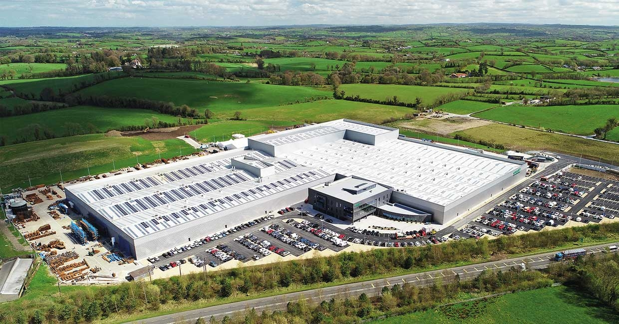 Combilift's outstanding new HQ in Monaghan, Northern Ireland