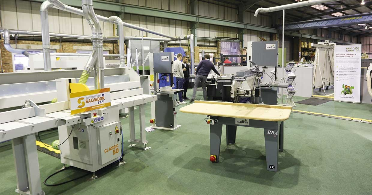 DaltonsWadkin's state-of-the-art showroom for wood, plastics and composite processing technology