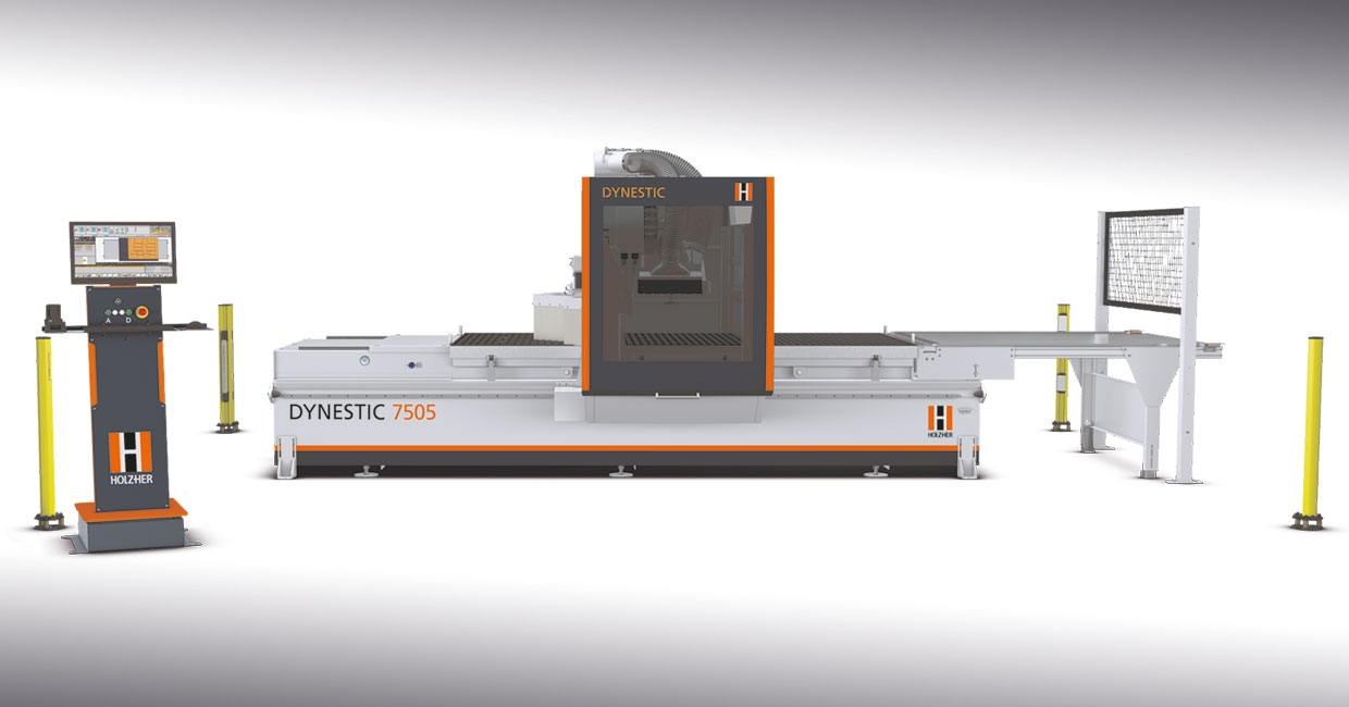 Holzher's Dynestic 7505 CNC comes in Classic and Push versions