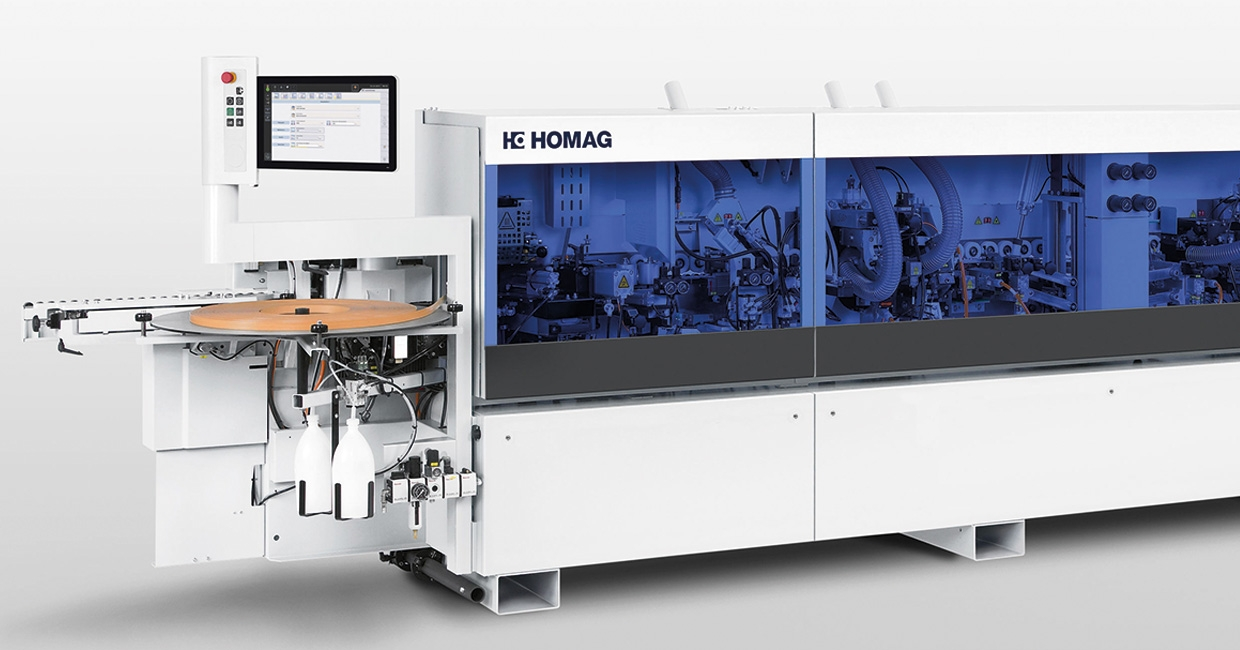 The Homag Edgeteq S-300 – high performance airTec solution for entry level workshops