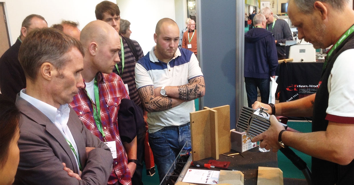 Get social and stay connected with UK's only woodworking machinery and materials exhibition, The W Exhibition