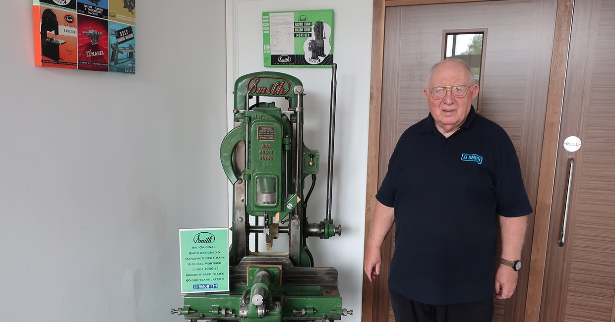 Peter Davies marking 60 years with JJ Smith