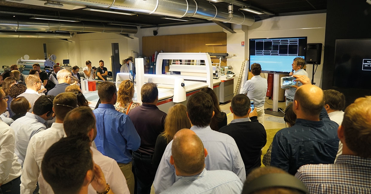 Building a digital future for furniture production at Lectra event