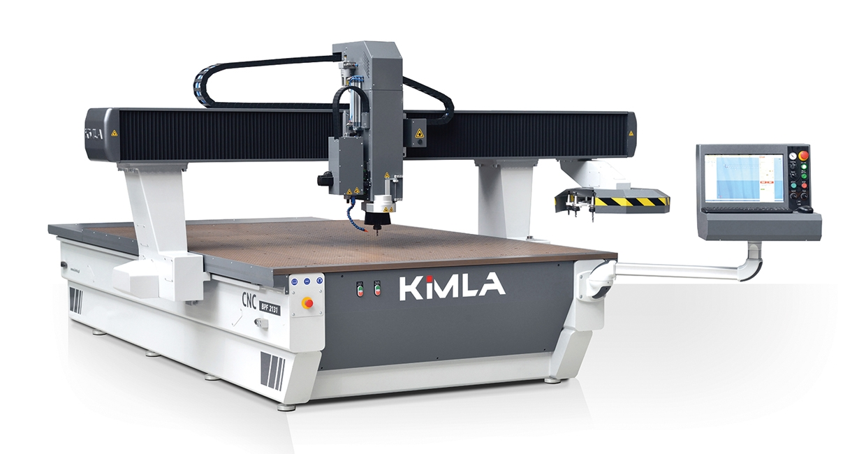 A new look to the highly capable and versatile Kimla CNC routers will be on show