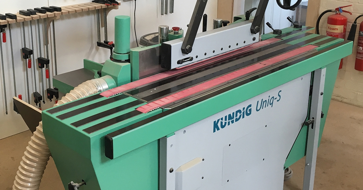 Kündig sanding solution specified by workshop with high-end bespoke work