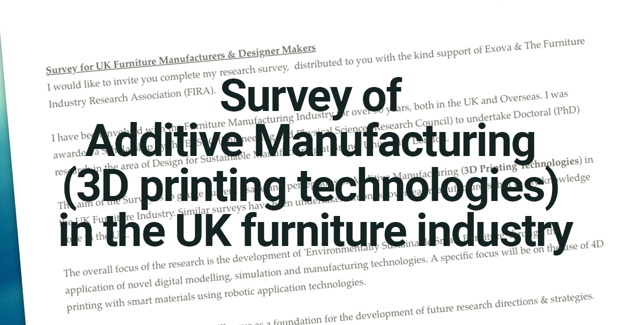 Perception and use of Additive Manufacturing in the UK