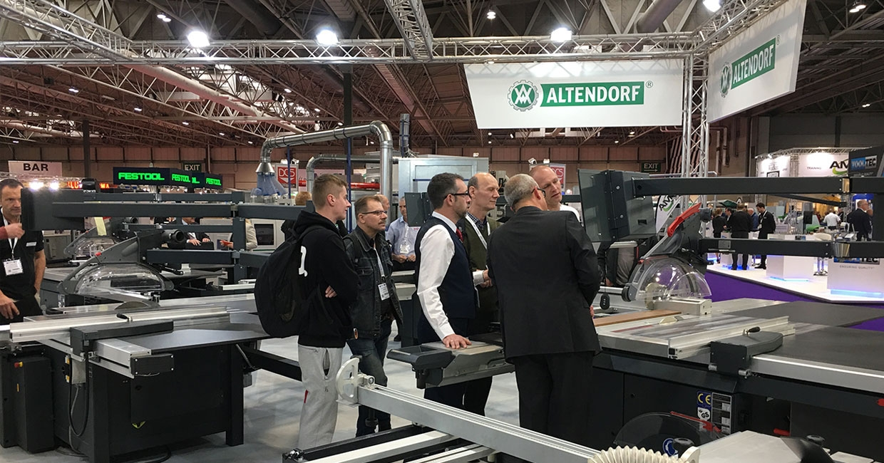 Altendorf at the W Exhibition