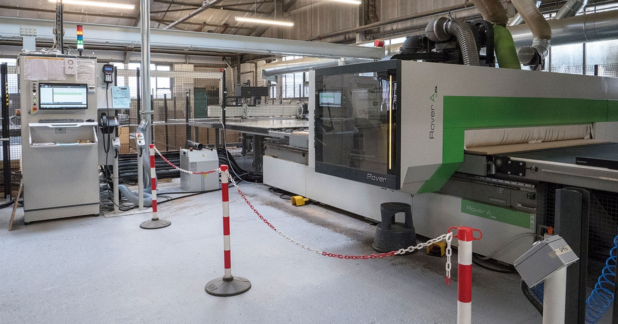 LundHalsey's Rover A FT 2231 CNC machining centre with loading complete with off-loading tables and a Winstore 3D K2 automatic board storage and retrieval system