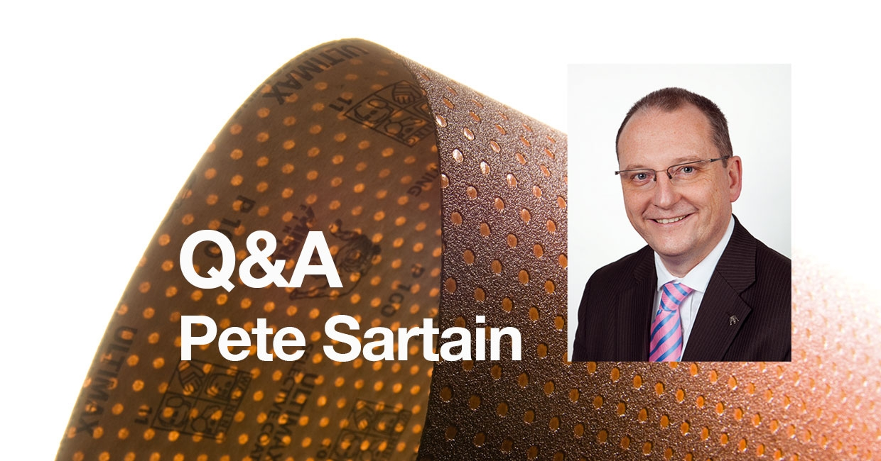 Q&A with Pete Sartain, Mirka UK