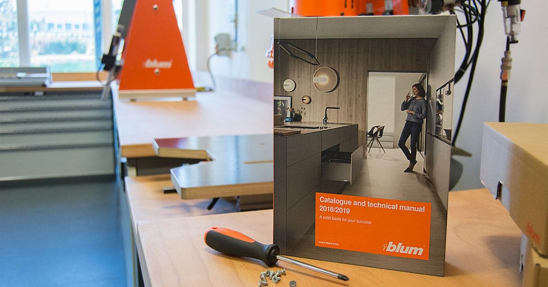 The new Blum catalogue