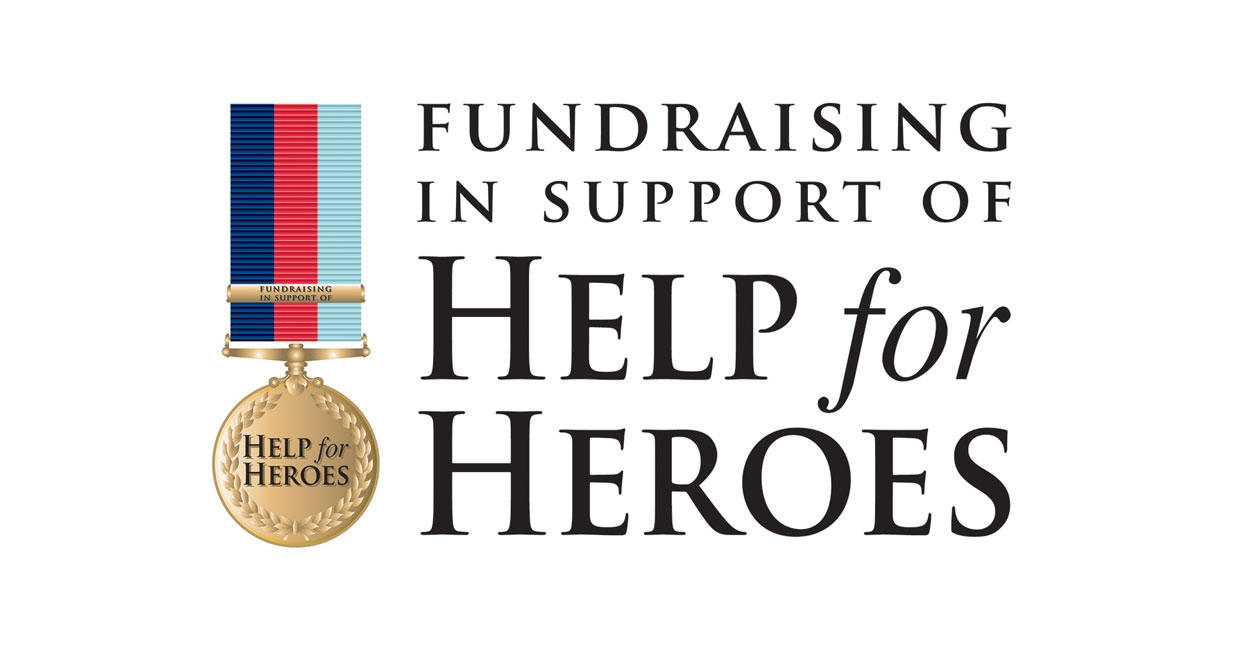 Help For Heroes Raises Over £1200 At The W Exhibition & Elements