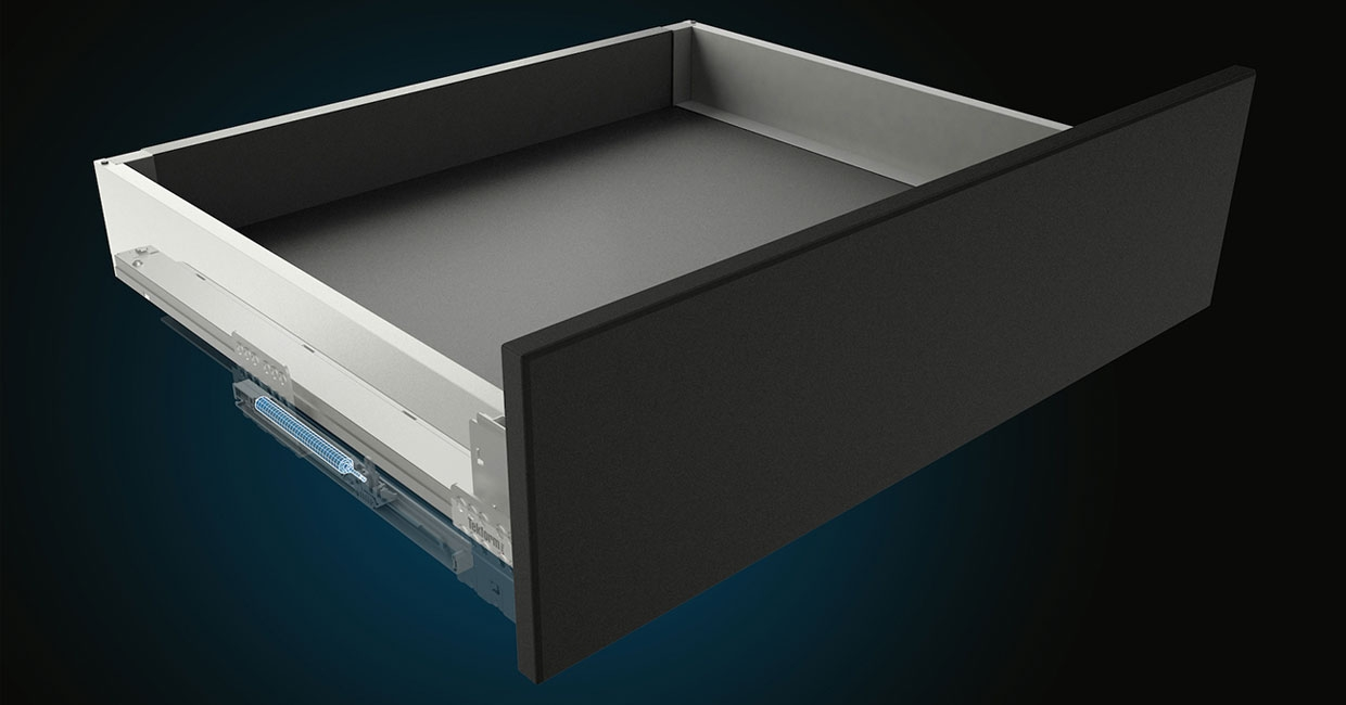 Tekform slimline drawer with new damper