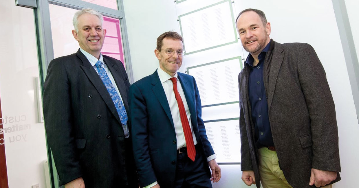 Kite Packaging, welcomed West Midlands mayor, Andy Street, to its regional distribution centre in Coventry