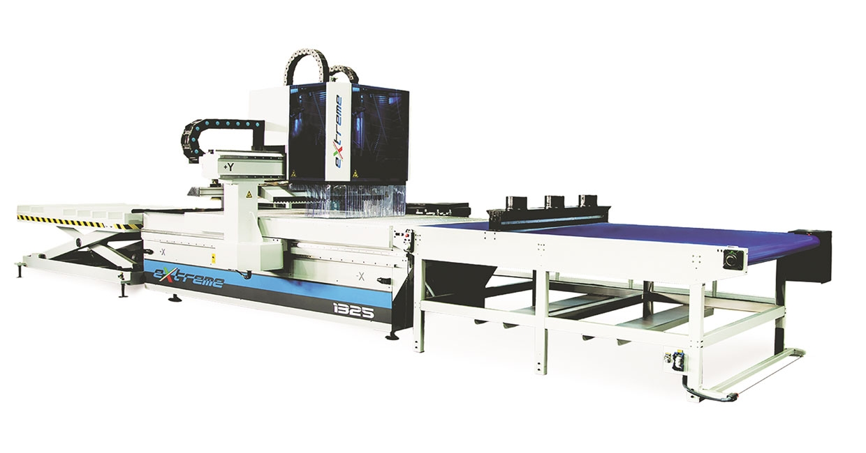The Extreme Line CNC machine