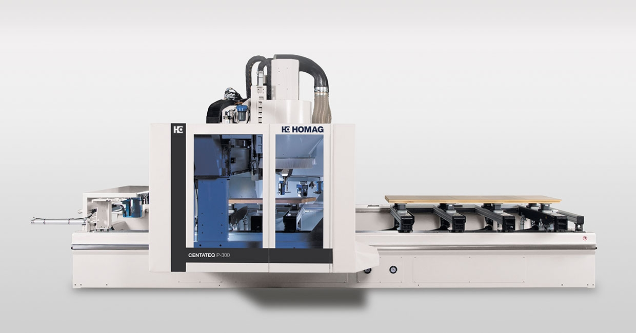 The Homag Centateq P-300 CNC – reliable performance