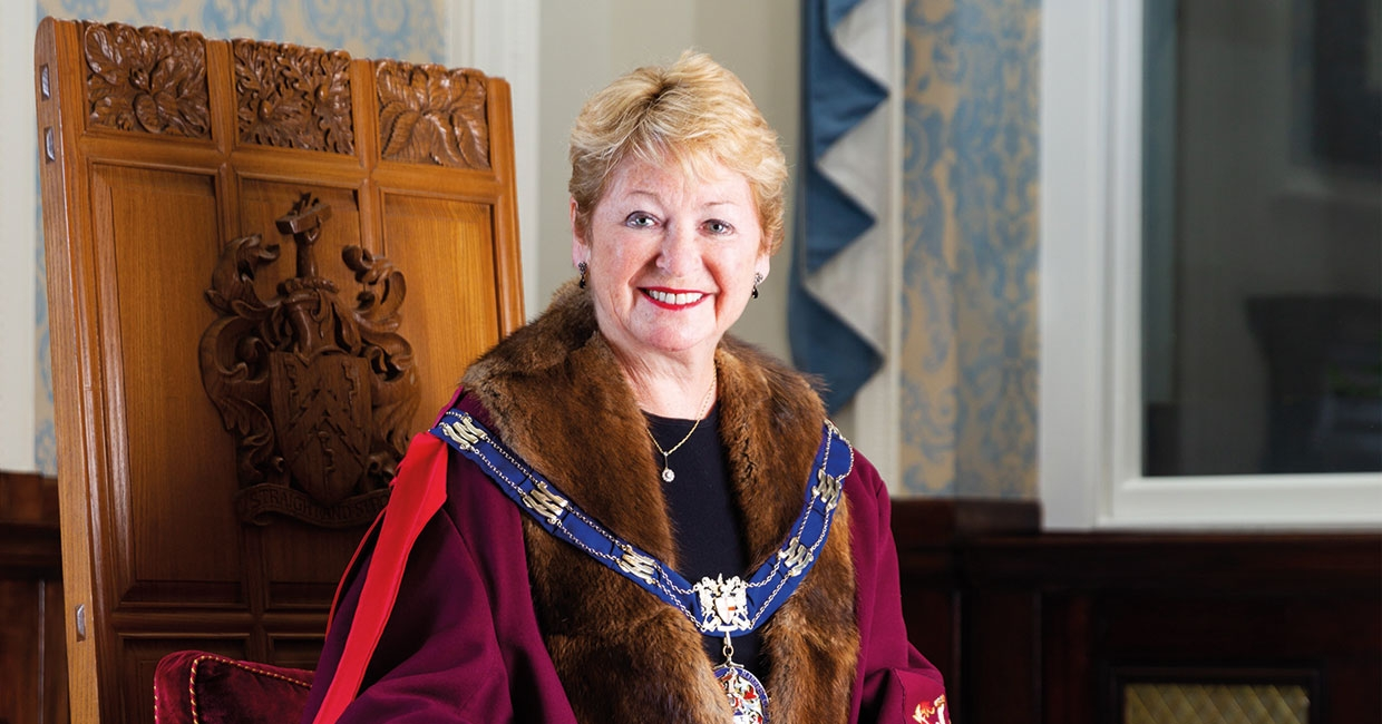 Dids Macdonald is the 58th Master of The Furniture Makers' Company