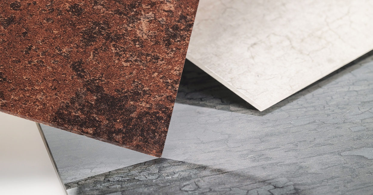 Say hello to Rehau's new decorative surfacing family.