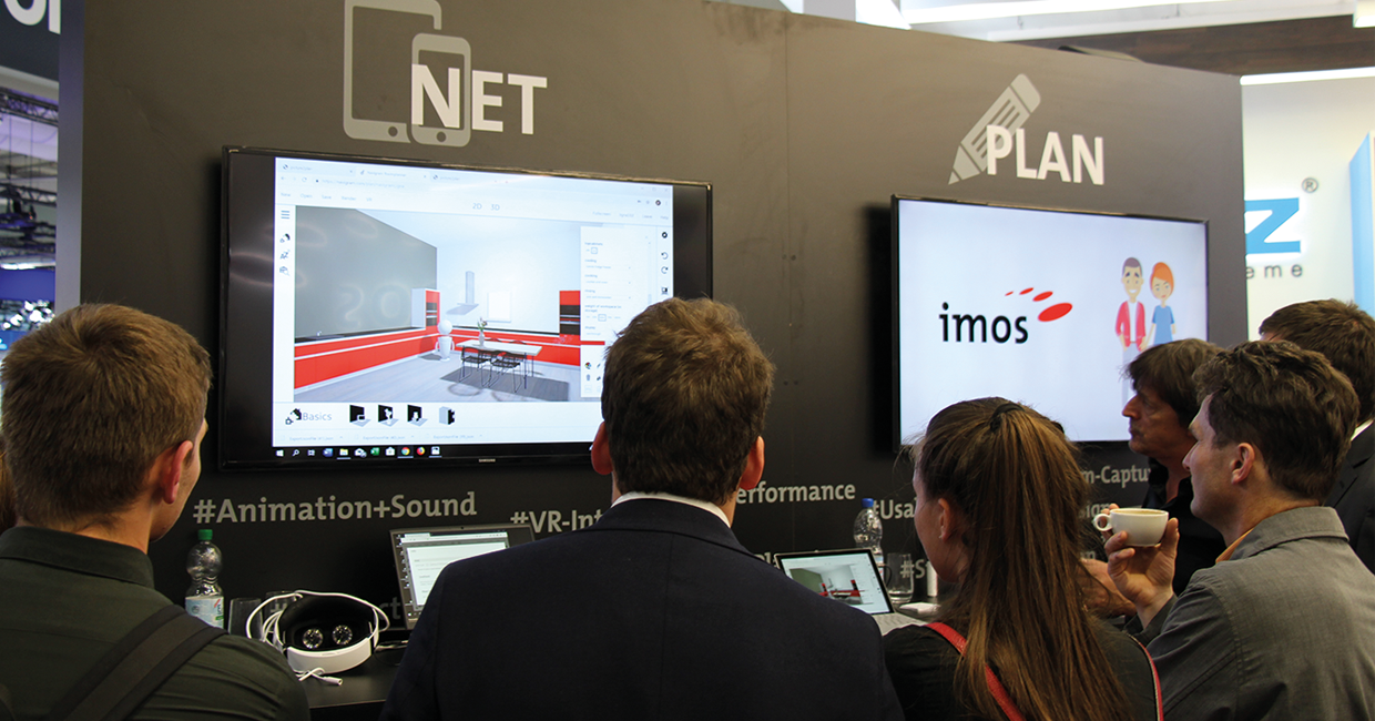 imos' Innovations iX lab at Ligna 2019