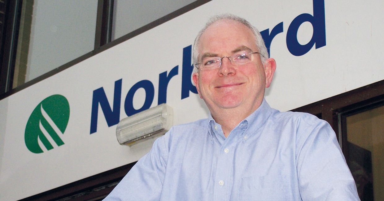 Norbord's industrial sales manager, David Sleigh