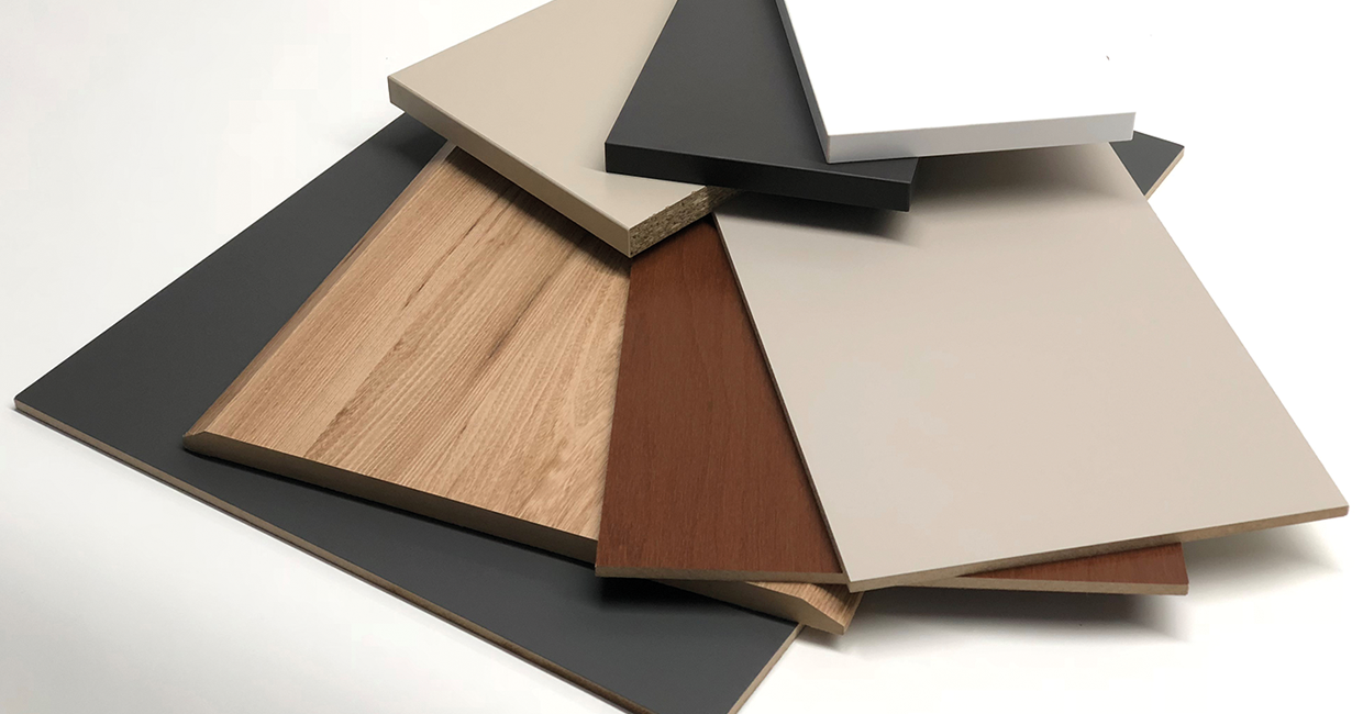 The WPR/TAKA solutions are ideal for wrapping wood, MDF or chipboard profiles