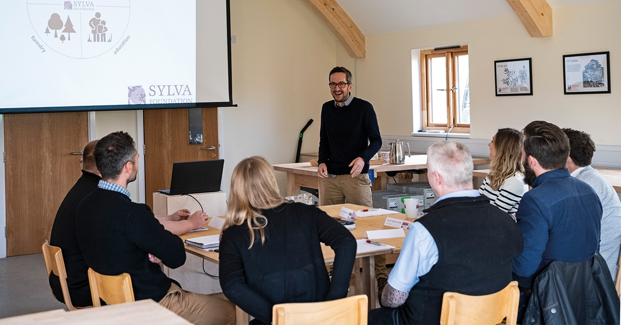 Axminster collaborates with the Sylva Foundation