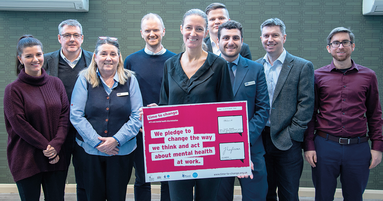 RBH, has signed an employer pledge with Time to Change
