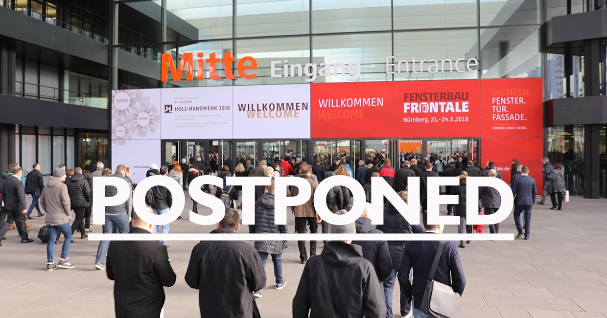 Holz-Handwerk and Fensterbau Frontale 2020 postponed