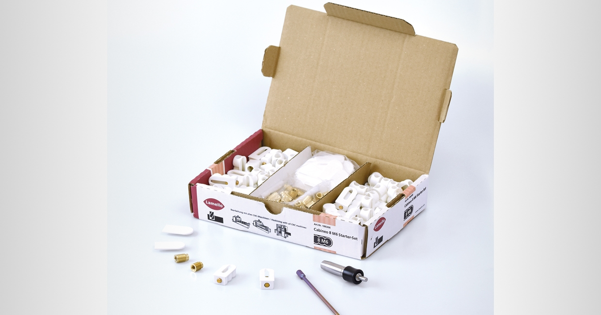 The new Cabineo 8 M6 starter kit will be on show at kbb Birmingham