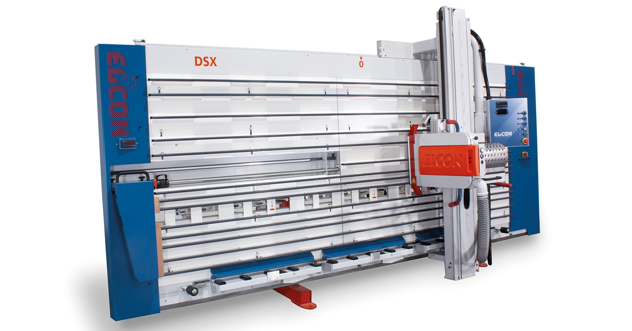 Elcon vertical panel saw increases efficiency at modular housing manufacturer