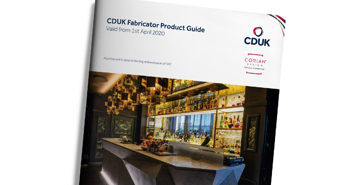 Inspiration from cover to cover: the 2020 Fabricator Product Guide from CDUK