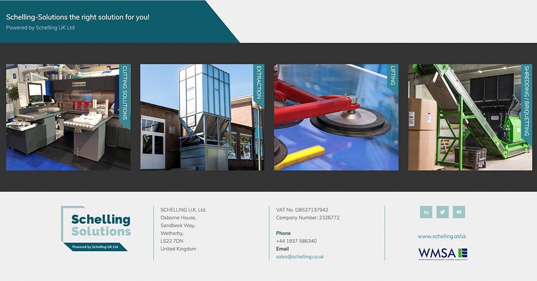 Schelling's upgraded portfolio and new-look website