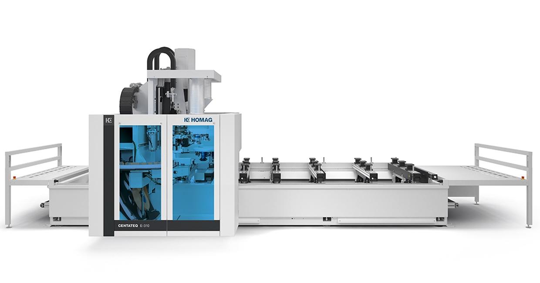 The Homag Centateq E-310 CNC processing centre