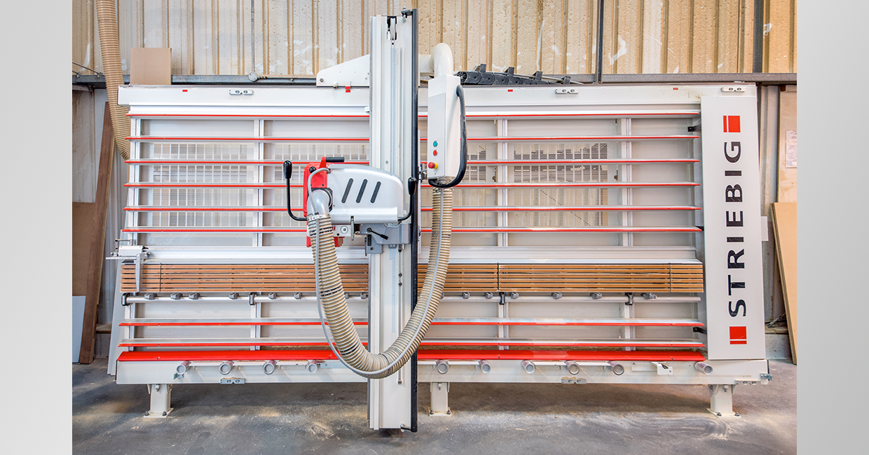 Beers Timber & Building Supplies has invested in six Striebig vertical panel saws across seven of its depots