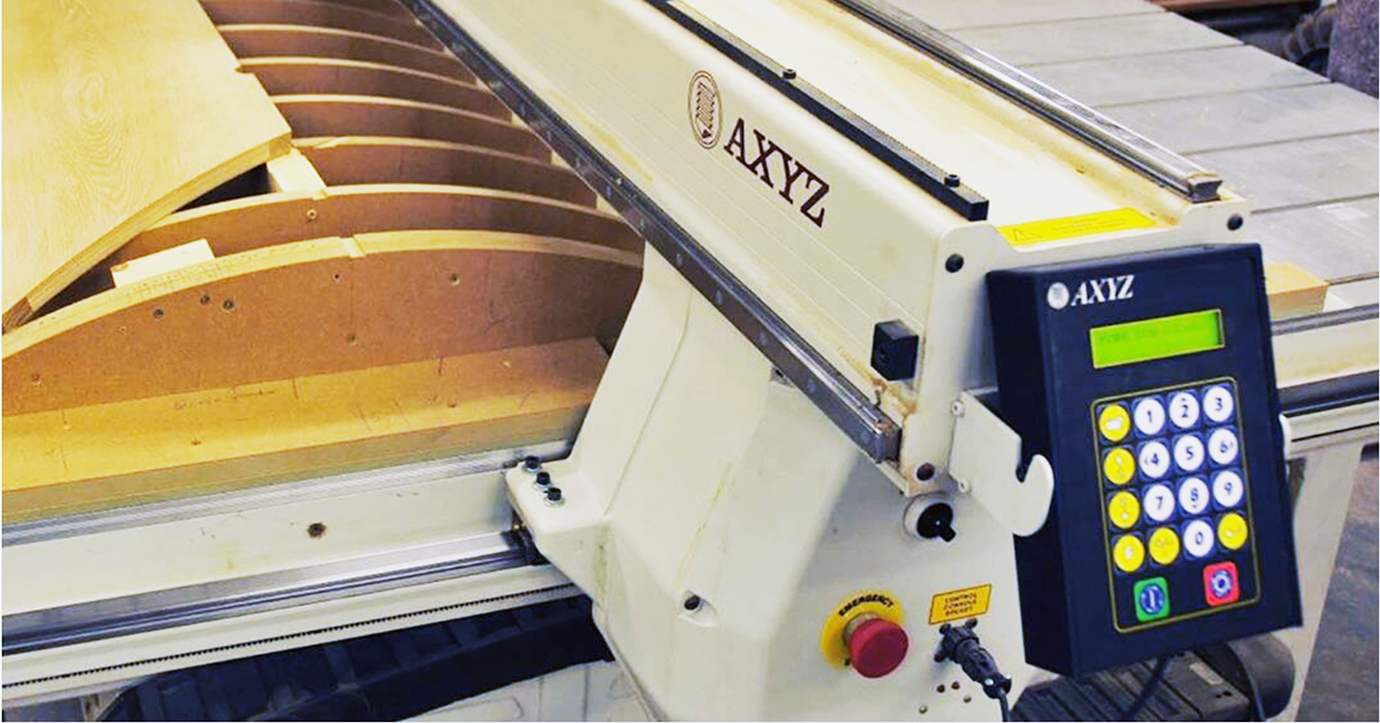 Maximise the wonder of wood with AXYZ CNC routers