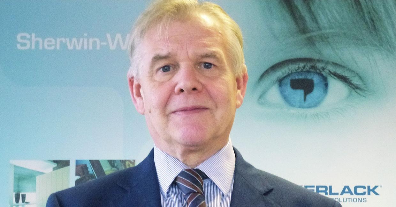 Graham Buchan, Sherwin-Williams UK