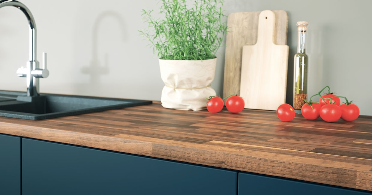 New Ostermann ABS edgings with a Butcherblock decor