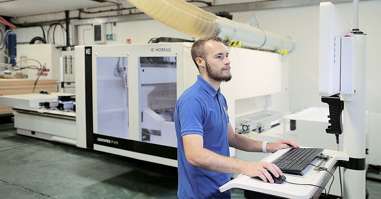 The Centateq P-210 five-axis CNC Router has enabled TMJ to enter new markets with an expanded product range
