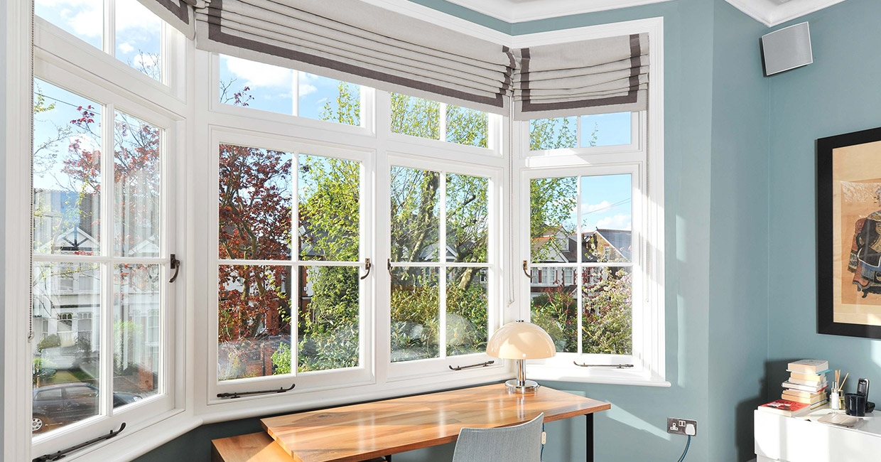 Producing  fine timber windows in less than half the time
