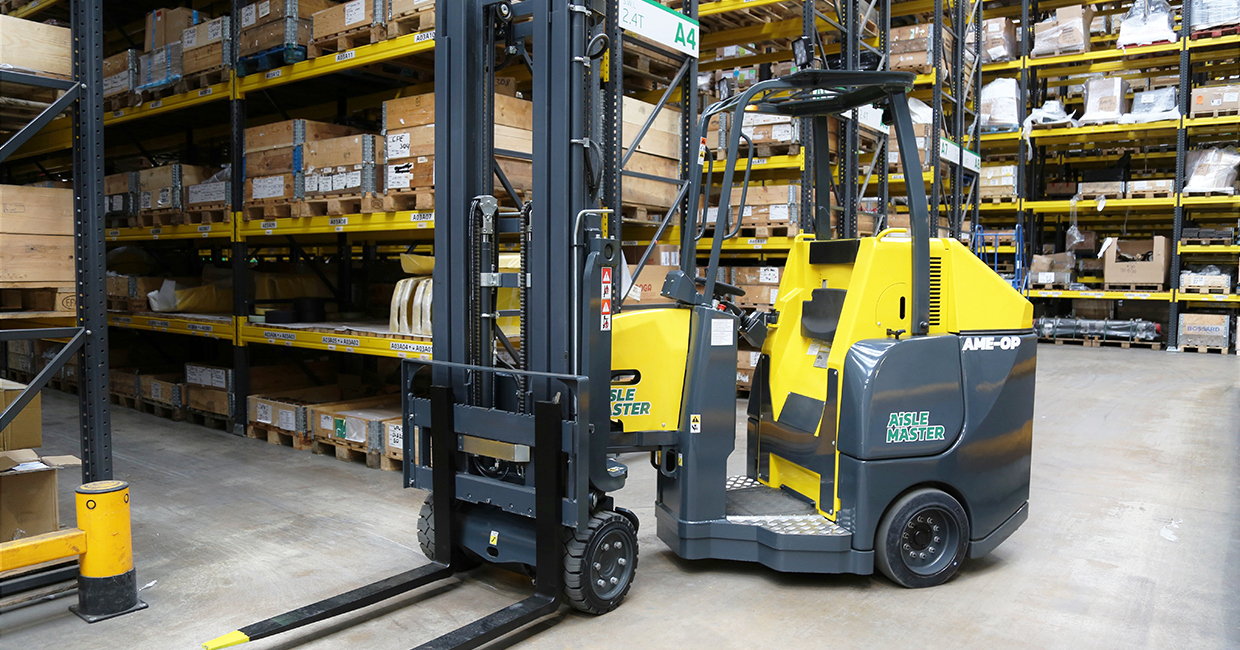 New Aisle Master order picker launched: Aisle Master-OP